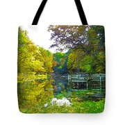 The Lake... Tote Bag