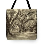 The Lane Sepia Tote Bag
