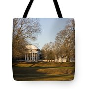 The Lawn University Of Virginia Tote Bag