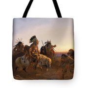 The Lost Trail Tote Bag