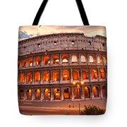 The Majestic Coliseum - Rome - Italy Tote Bag
