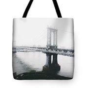 The Manhattan Bridge Tote Bag
