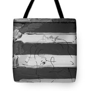 The Max Face In Black And White Tote Bag