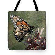 The Monarch Painterly Tote Bag