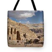 The Monastery El Deir Or Al Deir Tote Bag
