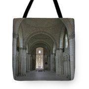 The Nave - Cloister Fontevraud Tote Bag