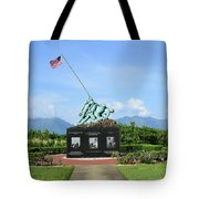 The Pacific War Memorial On Marine Tote Bag