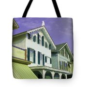 The Painted Ladies Of Cape May Tote Bag