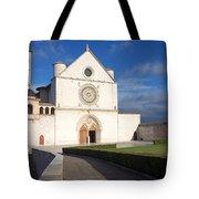 The Papal Basilica Of St. Francis Of Assisi  Tote Bag