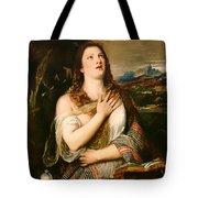 The Penitent Magdalene Tote Bag