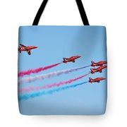The Red Arrows Tote Bag