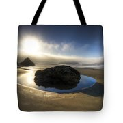 The Rock Tote Bag by Debra and Dave Vanderlaan