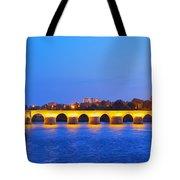 The Roman Bridge In Cordoba Tote Bag