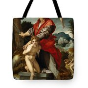 The Sacrifice Of Isaac Tote Bag