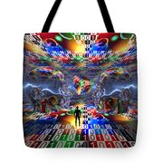 The Search For Extraterrestrial Life Tote Bag