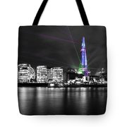 The Shard Lasers Tote Bag