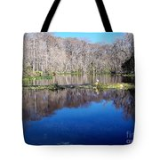 River - Reflection Tote Bag