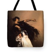 The Spanish Dancer Tote Bag