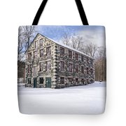 The Stone Mill At The Enfield Shaker Museum Tote Bag