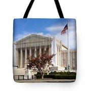 The Supreme Court Facade Tote Bag