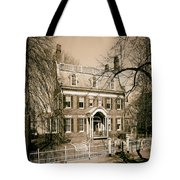 The Taft House - Brown University 1958 Tote Bag