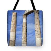 The Temple Of Hercules In The Citadel Amman Jordan Tote Bag