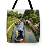 The Trent And Mersey Canal At Alrewas Tote Bag