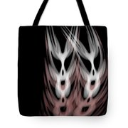 The Twins Tote Bag by Christopher Gaston
