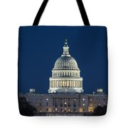 The United States Capitol Building Tote Bag