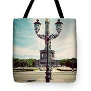 The Victory Column In Berlin Germany Tote Bag