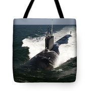 The Virginia-class Attack Submarine Uss Tote Bag