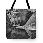 The Wave With Reflection Tote Bag