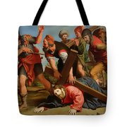 The Way To Calvary Tote Bag