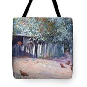 The White Picket Fence Tote Bag
