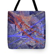 The Writing On The Wall 10 Tote Bag
