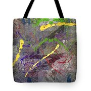 The Writing On The Wall 11 Tote Bag