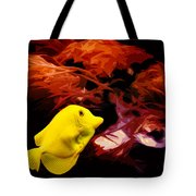 The Yellow Queen Tote Bag