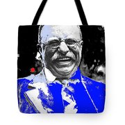 Theodore Roosevelt Charlie Duprez Photo Oyster Bay New York 1912-2013 Tote Bag