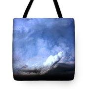 There Be A Storm A Brewin In Nebraska Tote Bag