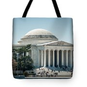 Thomas Jefferson Memorial In Washington Dc Usa Tote Bag