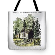 Thoreau Walden, 1875 Tote Bag