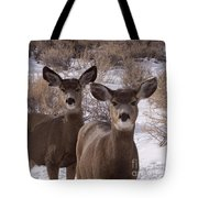 Three Does   #7576 Tote Bag