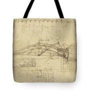 Three Kinds Of Movable Bridge Tote Bag
