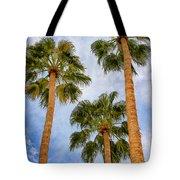 Three Palms Palm Springs Tote Bag