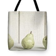 Three Pear Tote Bag by Edward Fielding