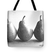 Three Pears Tote Bag