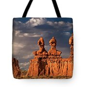 Three Sisters Hoodoos Goblin Valley Utah Tote Bag
