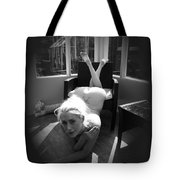 Through The Keyhole Tote Bag