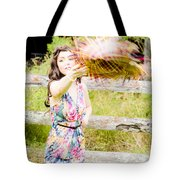 Throw Your Hat Into The Ring Tote Bag