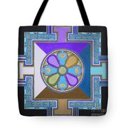 Tibetan Mandala Tote Bag